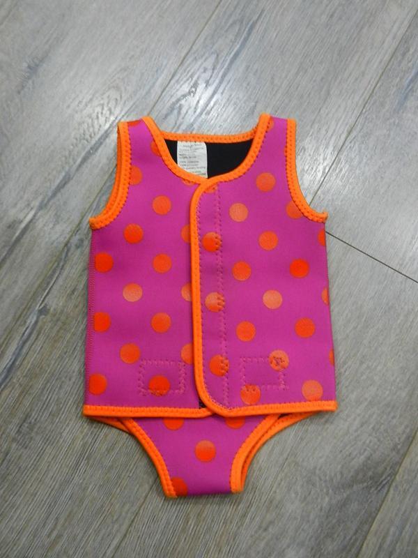 Indigo kids розовый купальник неопреновый,купальный боди,гидро...