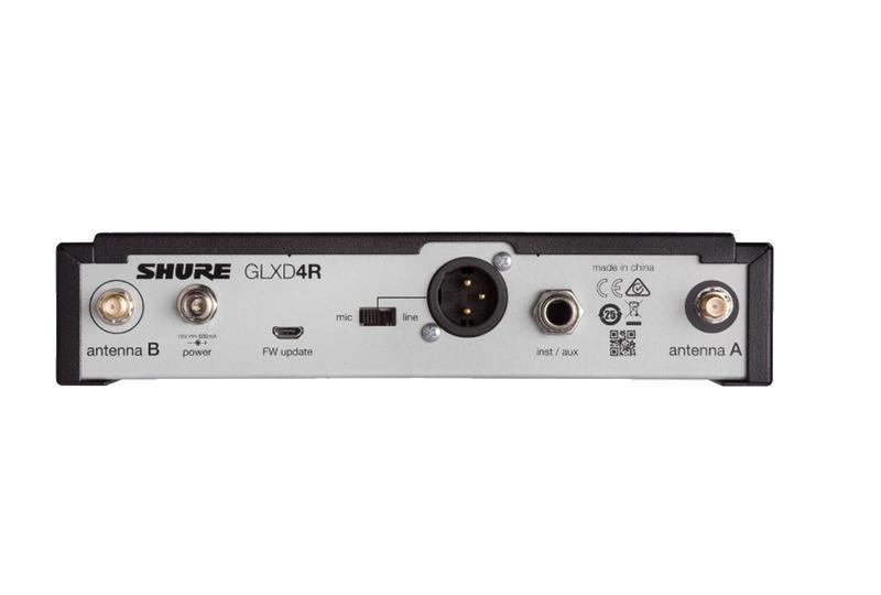 Беспроводная радиосистема GLXD24RE, с ручным микрофоном BETA58 - Фото 3