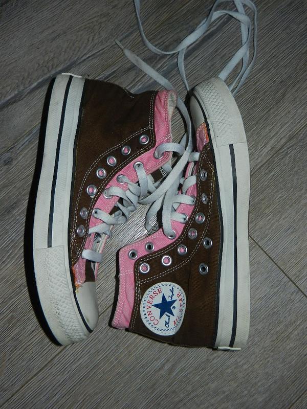 Коричневые кеды converse, оригинал, 36 размер, 23 см