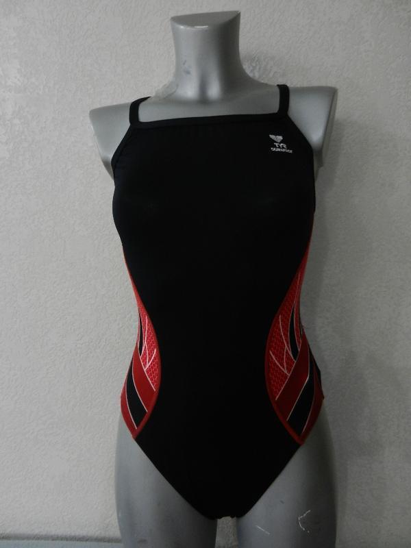 14/46-48/m-l tyr,оригинал,франция!черный купальник для плавани...