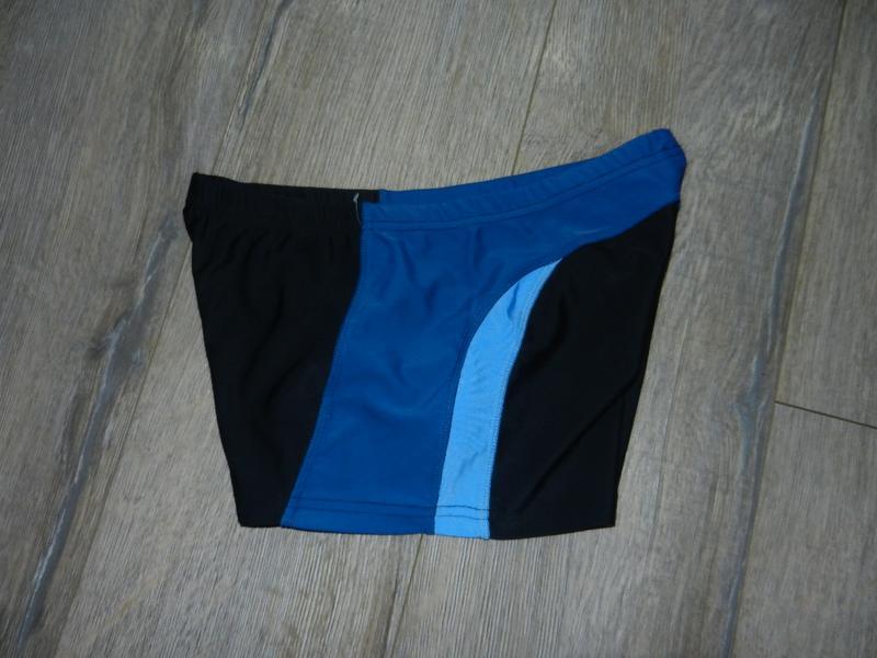 S/44 германия! черные с синим плавки шортики для моря, для бас...