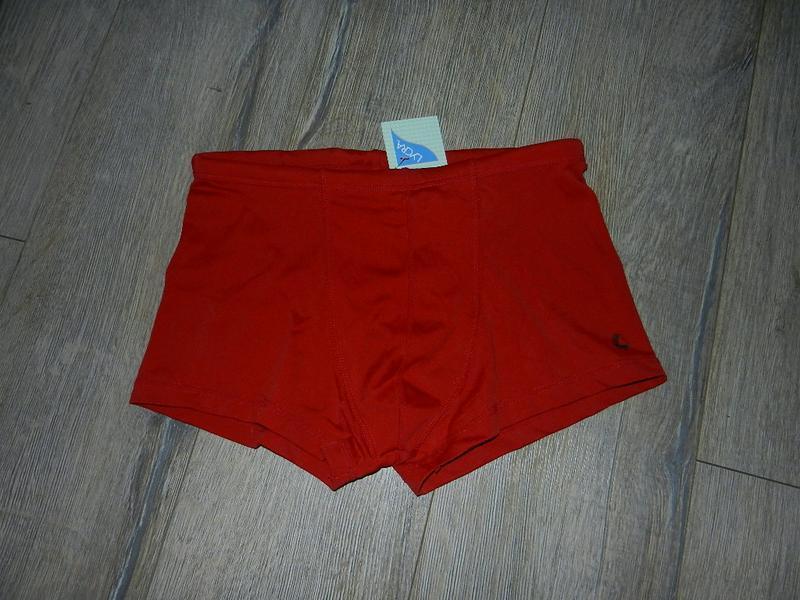S-m/44-46 h&m терракотовые плавки шорты для моря, для бассейна