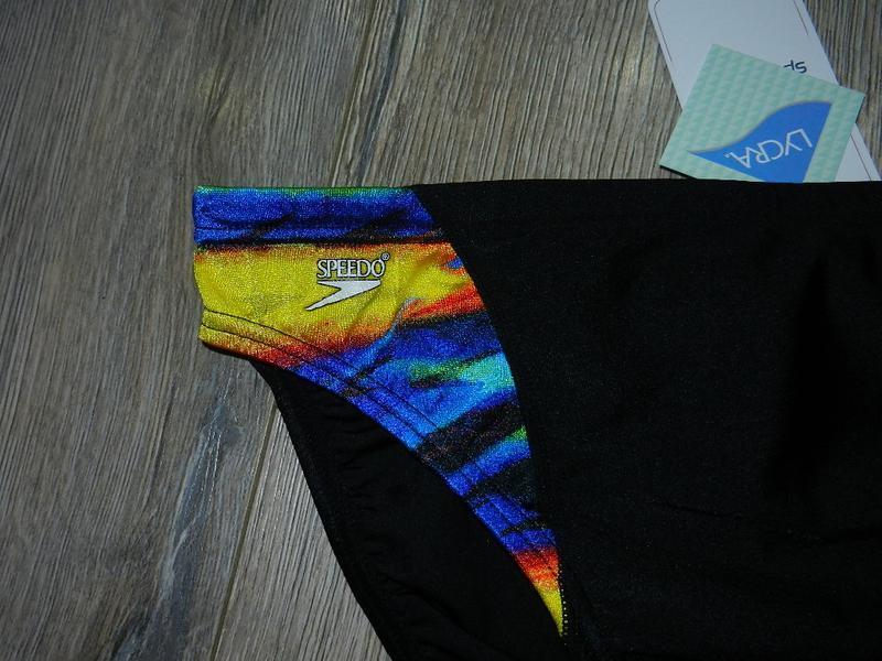 46-48/m-l speedo,оригинал! стильные черные яркие плавки новые - Фото 2