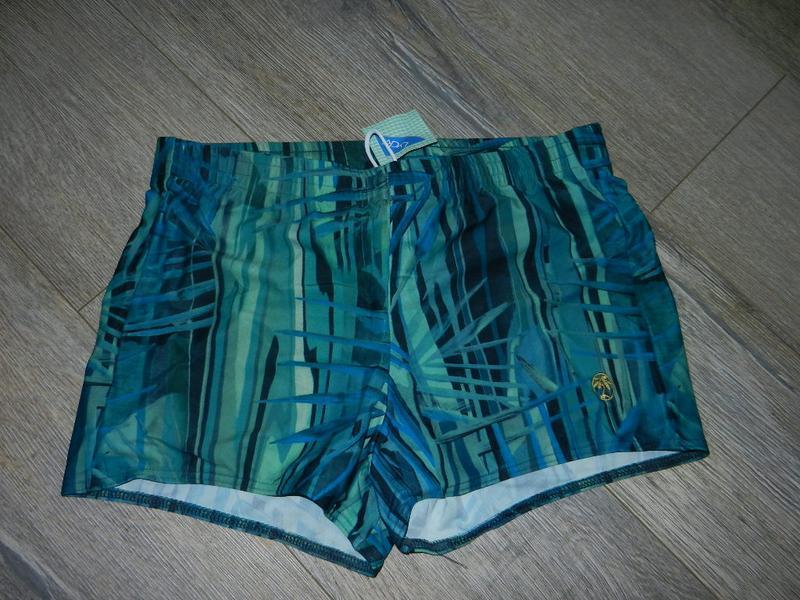 Xl/50 германия!зеленые,малахитовые плавки шорты новые