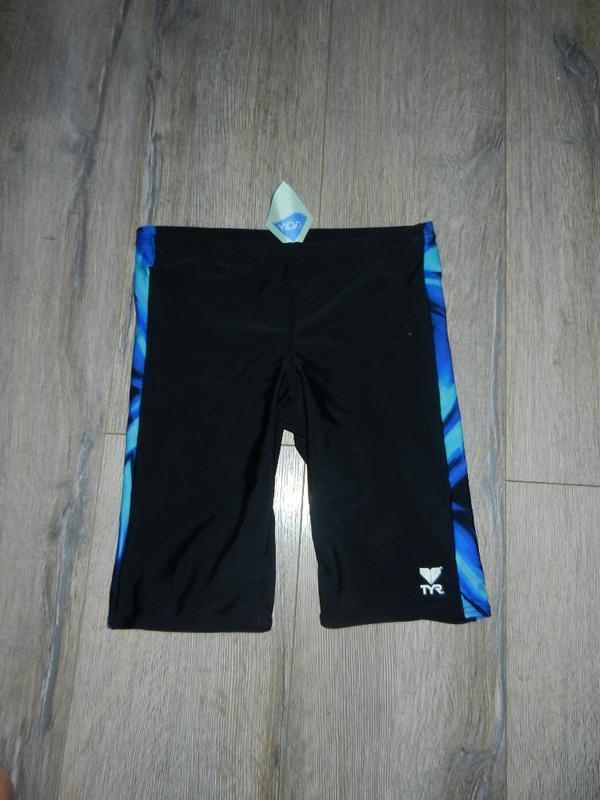 S/44 30/30 tyr,оригинал! мужские черные шорты для плавания,новые