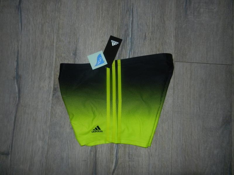 48/l adidas infinitex,оригинал!яркие салатовые плавки шорты,новые - Фото 3