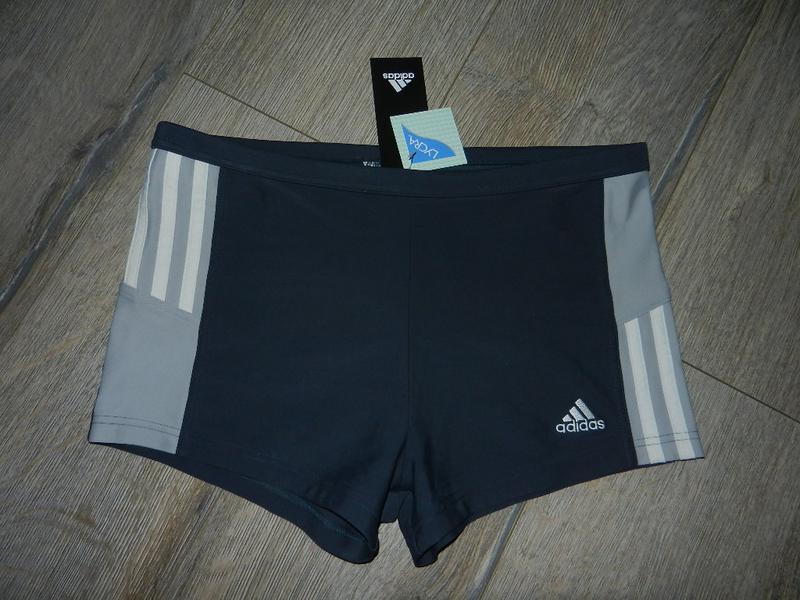 48/l adidas,оригинал серые плавки шортики для моря, для бассейна