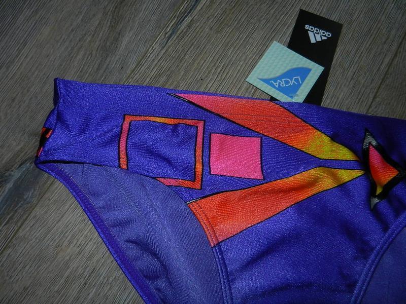 48-50/l-xl adidas,оригинал фиолетовые яркие плавки - Фото 2