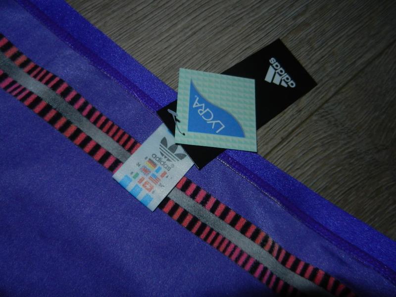 48-50/l-xl adidas,оригинал фиолетовые яркие плавки - Фото 8