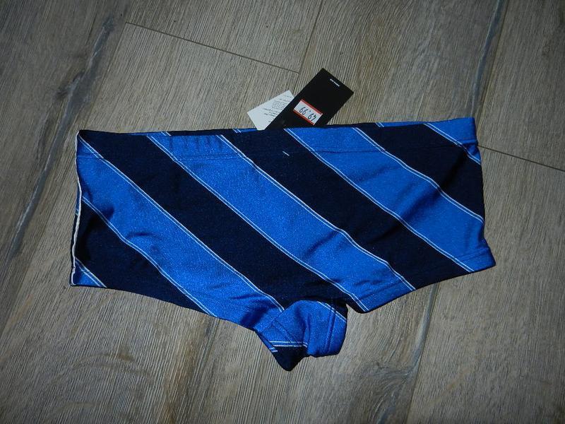 48/l adidas,оригинал яркие синие плавки шорты новые