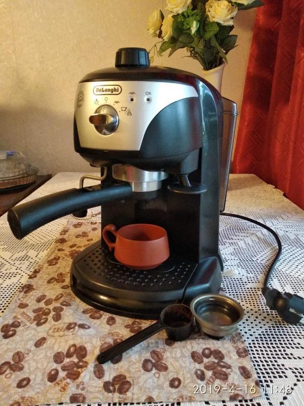 Кофеварка /кофемашина DeLonghi EC220 CD