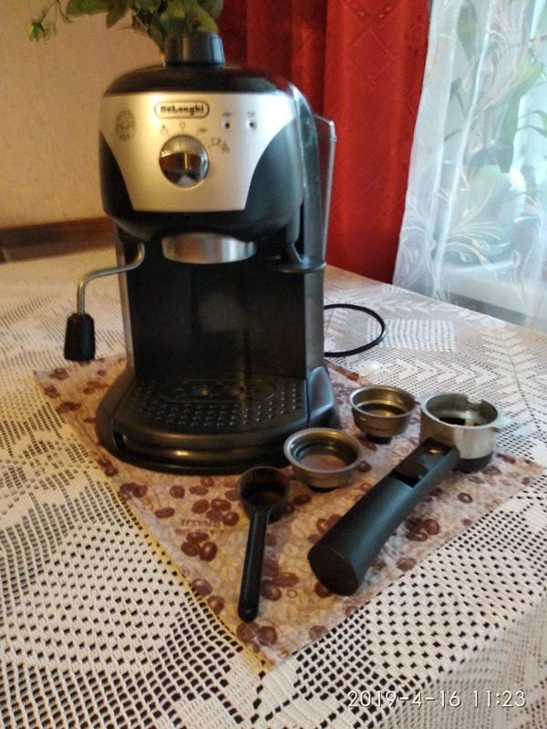 Кофеварка /кофемашина DeLonghi EC220 CD - Фото 2