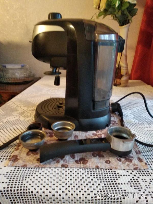 Кофеварка /кофемашина DeLonghi EC220 CD - Фото 3