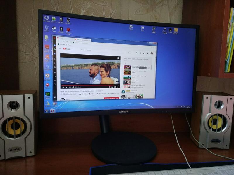 Игровой монитор Samsung C24FG70F 1ms, 144Hz, Curved - Фото 5