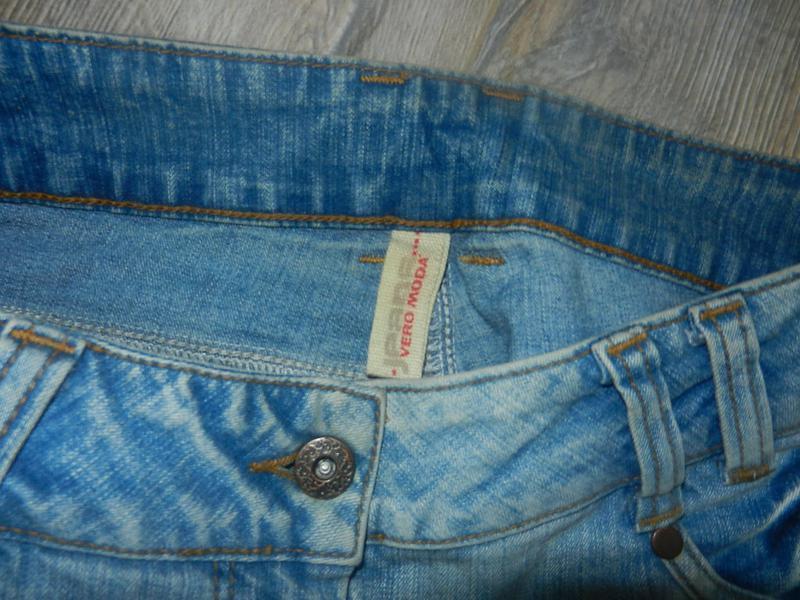 Vero moda джинсы женские голубые