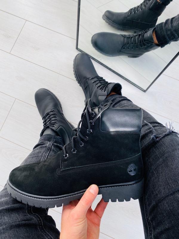 Lux обувь!😍идеальные натуральные зимние мужские ботинки нубук ...
