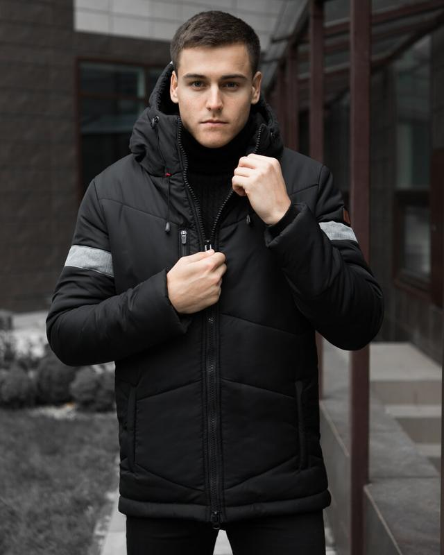 Зимняя мужская куртка PGBlack