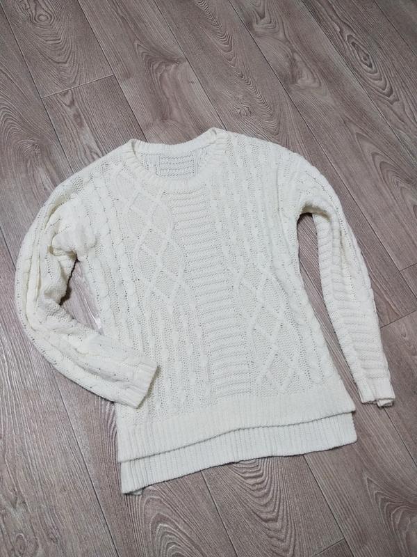 Свитер крупная вязка кофта пуловер