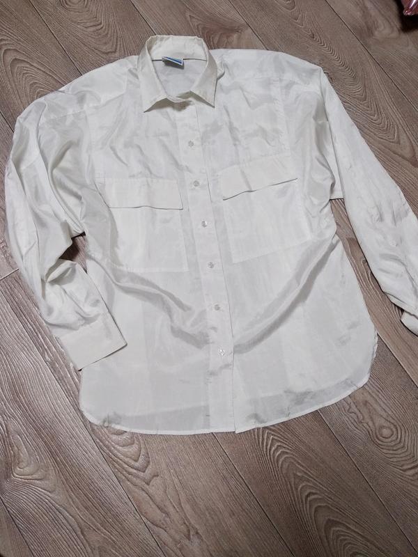 Блузка блуза прямая рубашка