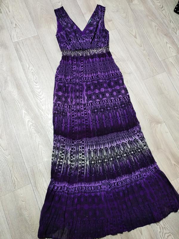 Платье длинное сарафан длинный в пол