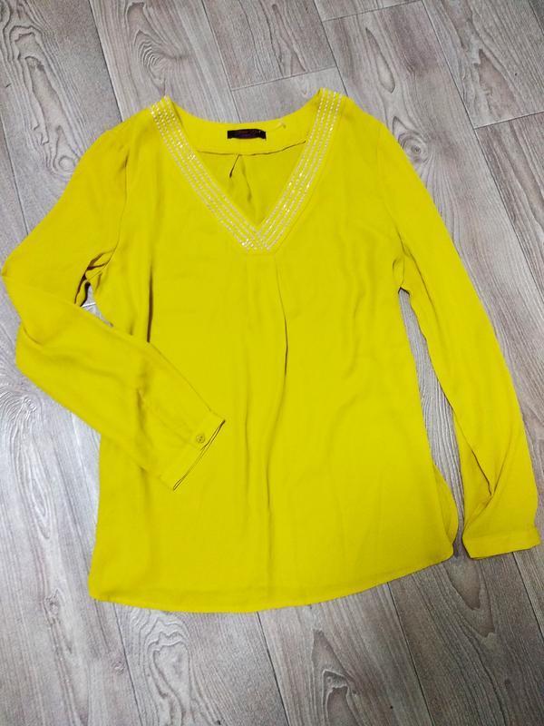 Крутая шифоновая блуза блузка нарядная шифоновая дизайнерская ...