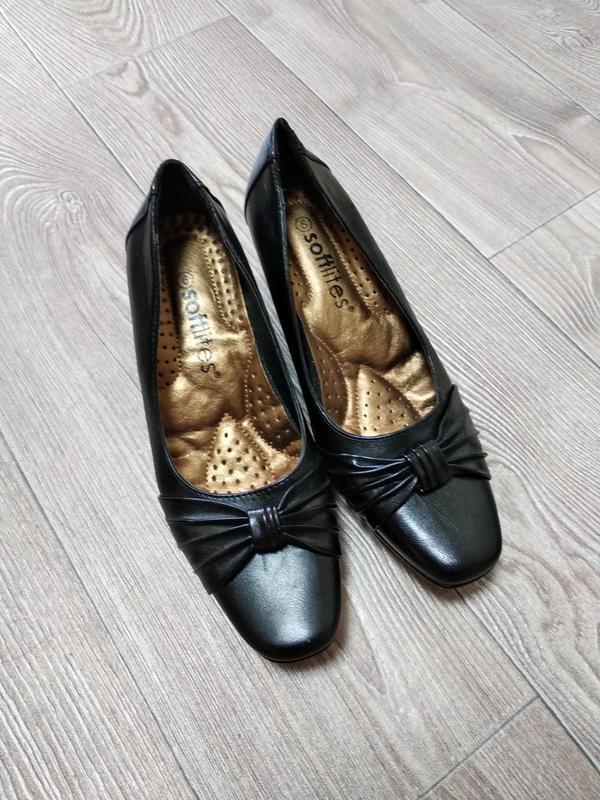 Туфельки туфли классические на широкую ногу стопу