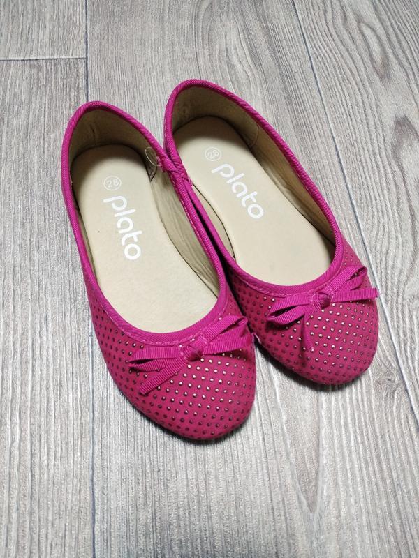 Балетки туфли чешки