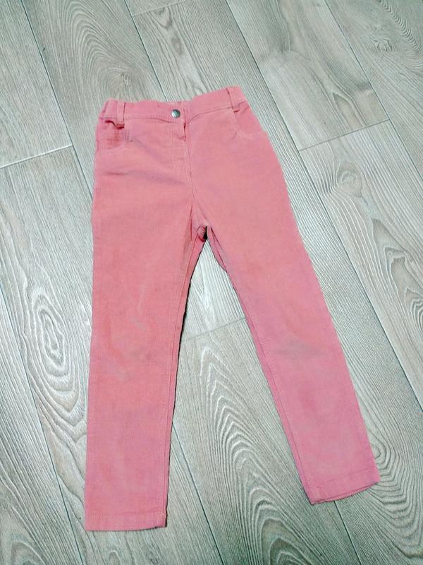 Вельветовые брюки джинсы узкачи штаны
