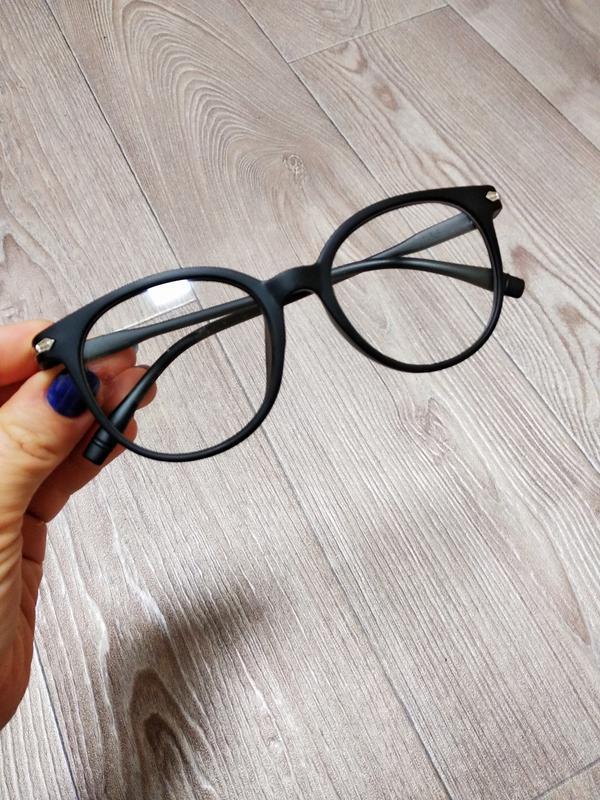 Имиджевые очки оправа пластиковые матовые