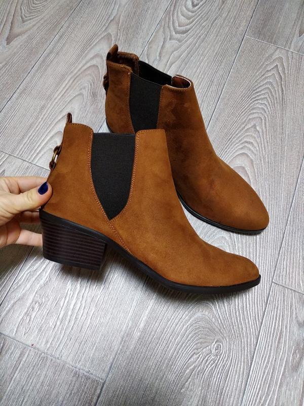 Новые осенние весенние сапоги ботинки челси демисезонные