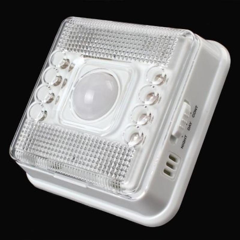 Светодиодный светильник с датчиком движения и освещенности - Фото 2