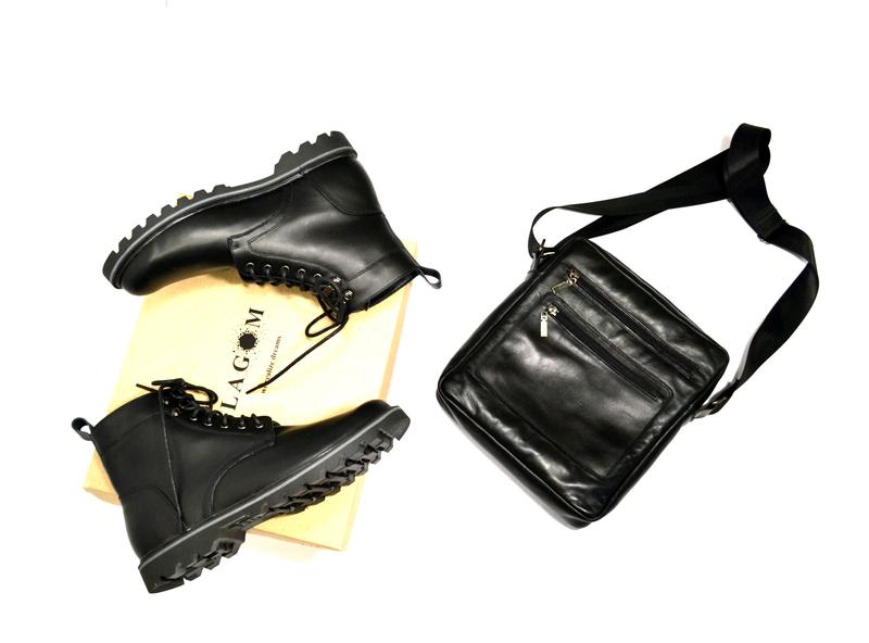 Мужские кожаные ботинки - Фото 8