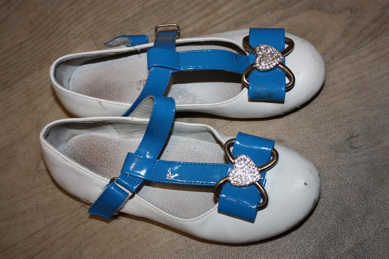 Нарядные туфли для девочки(школа,детский сад) р-30 в хорошем с...