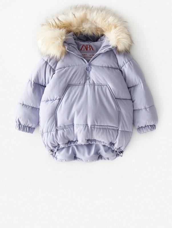 Новая зимняя куртка zara