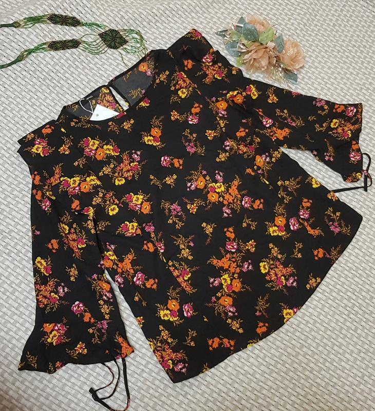 Блуза с рюшами george