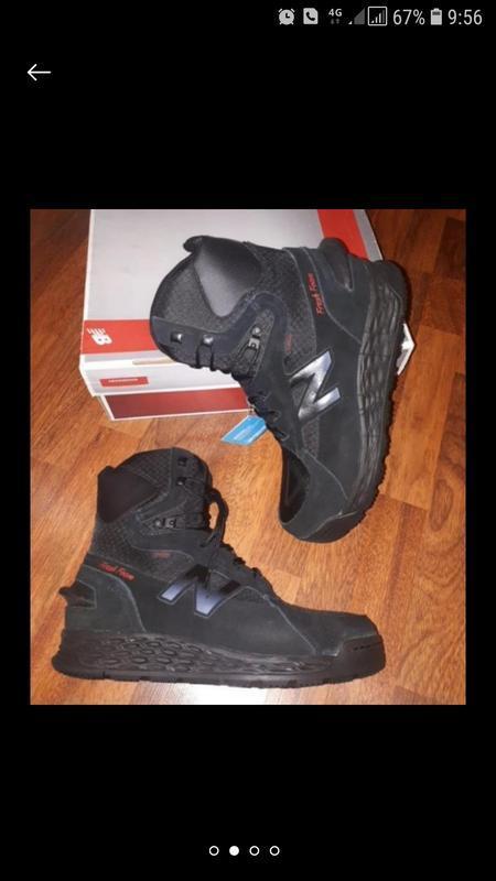 Зимние ботинки спортивные на мембране new balance m12