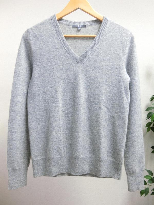 Кашеміровий джемпер свитер uniqlo
