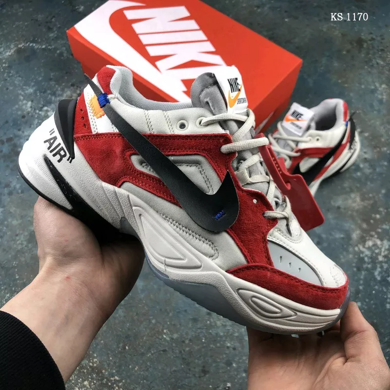 Кроссовки OFF-WHITE x Nike M2K Red