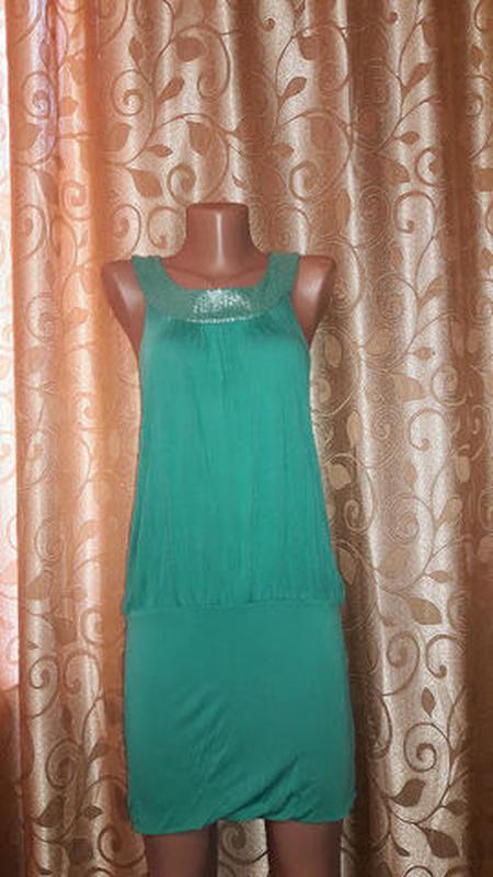 🌺👗🌺стильное короткое трикотажное платье от h&m🔥🔥🔥