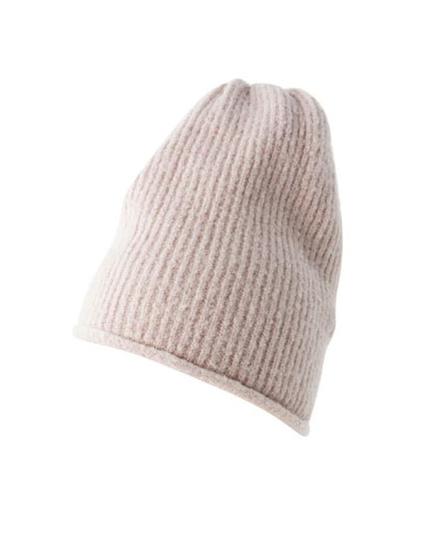 Пудровая шапка pull&bear