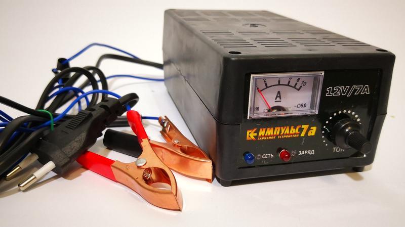Импульс-7А (Кедр) зарядное устройство для аккумулятора автомобиля - Фото 2