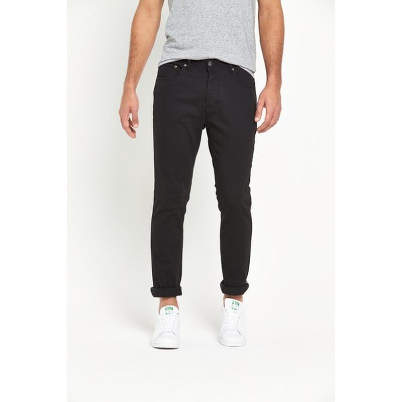 Черные брюки чинос для высоких