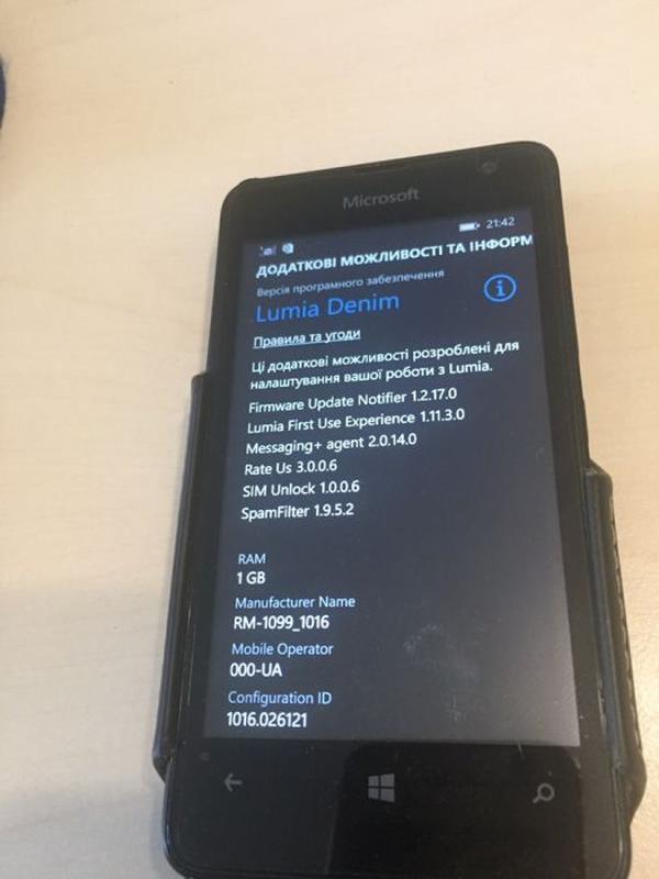 Смартфон Nokia Lumia 430 Dual Sim, дві сімки, windows phone, деше