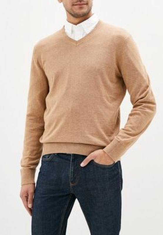 Базовый кашемировый свитер джемпер пуловер с длинным рукавом 🌿