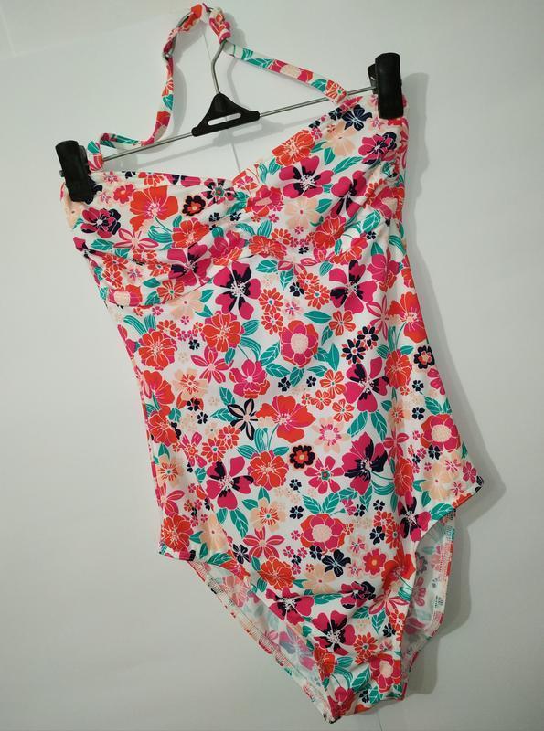 Цветочный привлекательный цельный купальник marks&spencer uk 8...