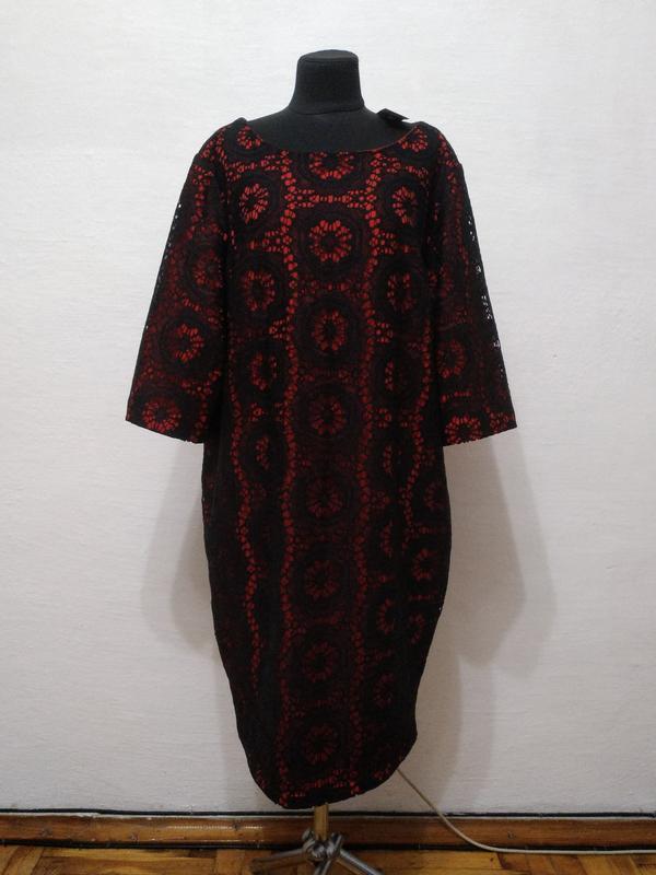 Стильное элегантное женственное платье большого размера