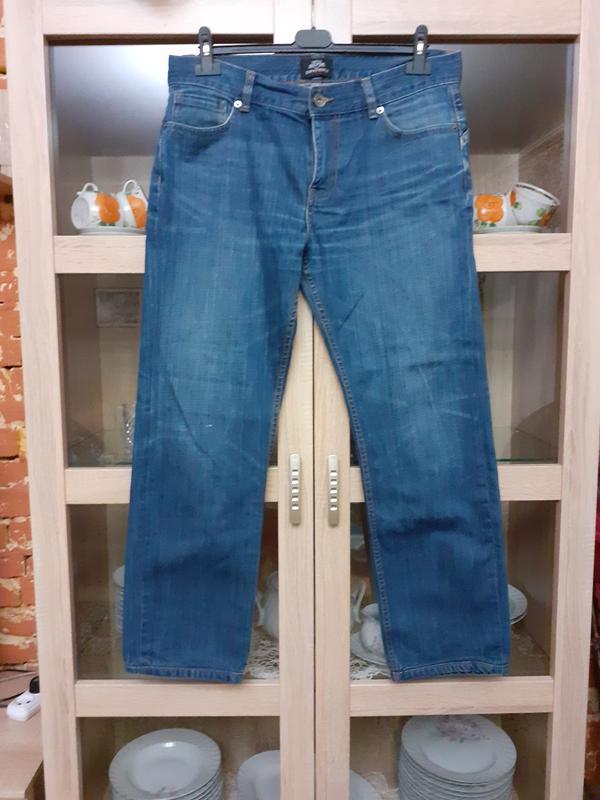 Суперовые котоновые джинсы большого размера