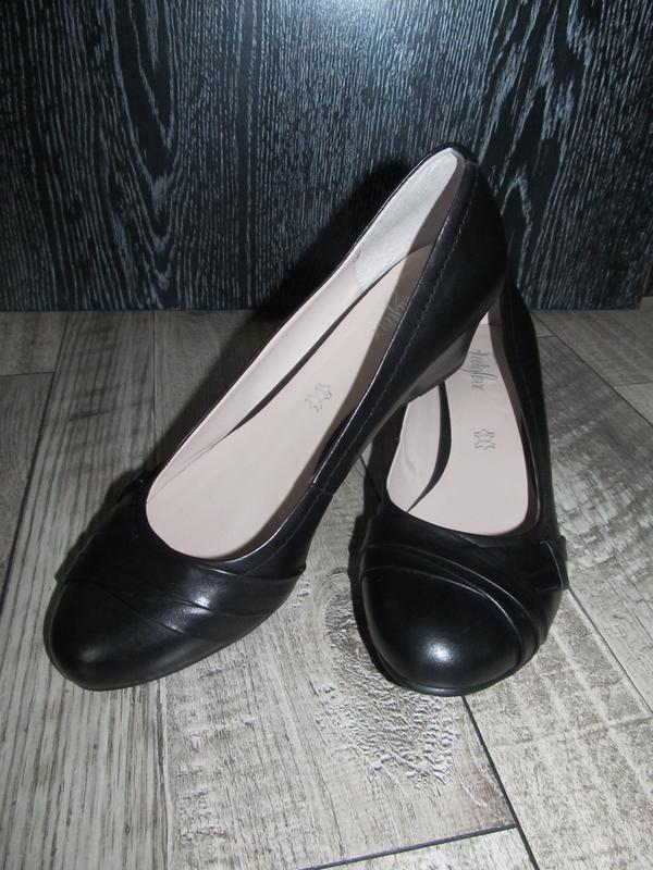 Кожаные туфли footglove  р.41 -27см