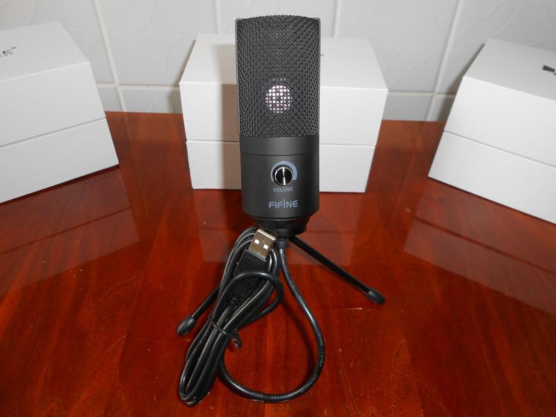 Студийный конденсаторный USB микрофон FIFINE K669 - Фото 2