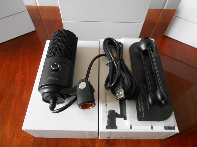 Студийный конденсаторный USB микрофон FIFINE K669 - Фото 3